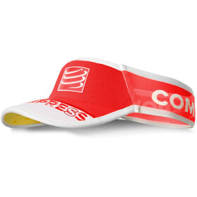 Compressport UltraLight Visière, red